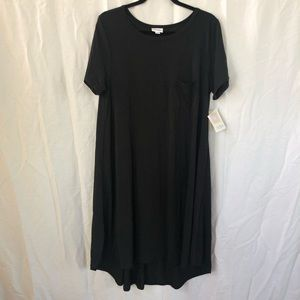 NWT Lularoe Carly Dress, Noir Collection